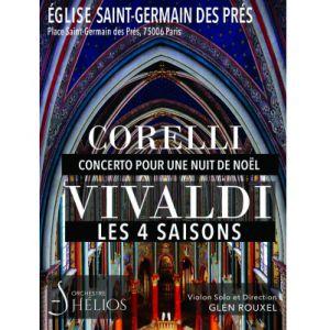Corelli Concerto Pour Une Nuit De Noël / Les 4 Saisons De Vivaldi