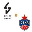 Match LDLC ASVEL - CSKA MOSCOU