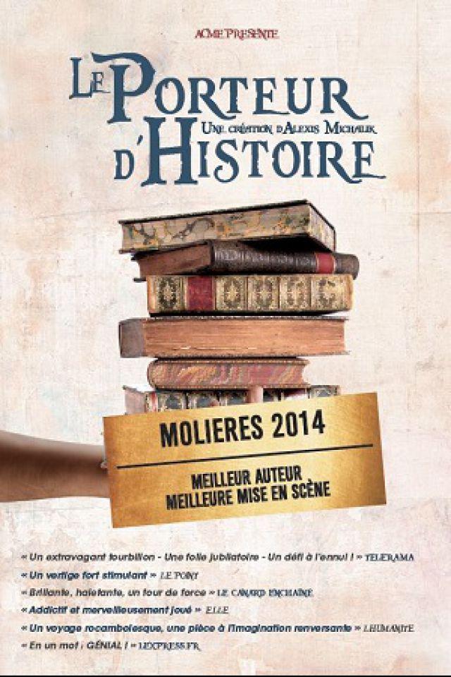 LE PORTEUR D'HISTOIRE @ Centre Culturel Pierre Messmer - Saint-avold