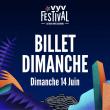 VYV Festival 2020 - Dimanche 14 Juin - J2 à CORCELLES LES MONTS @ Parc de la Combe à la Serpent - Billets & Places