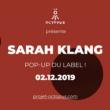 Concert Sarah Klang