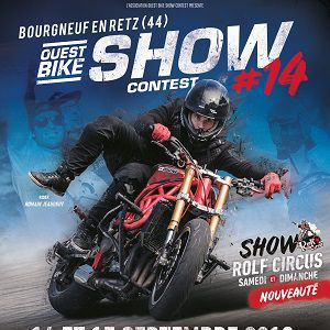 Ouest Bike Show Contest 2019 - Pass Week-End 2 Jours