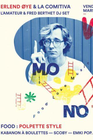 Concert Mo no presents: Erlend Øye & La Comitiva à MARSEILLE @ Café Borely - Billets & Places