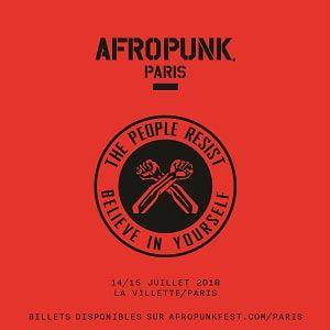 AFROPUNK FEST PARIS - 2 JOURS VIP @ GRANDE HALLE DE LA VILLETTE - NEF NORD - PARIS 19
