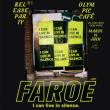 Concert Faroe release party + Bel Ombre à PARIS @ L'OLYMPIC CAFE - Billets & Places