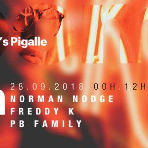 BLOOM #15 W/ NORMAN NODGE & FREDDY K @ Folie's Pigalle - Paris