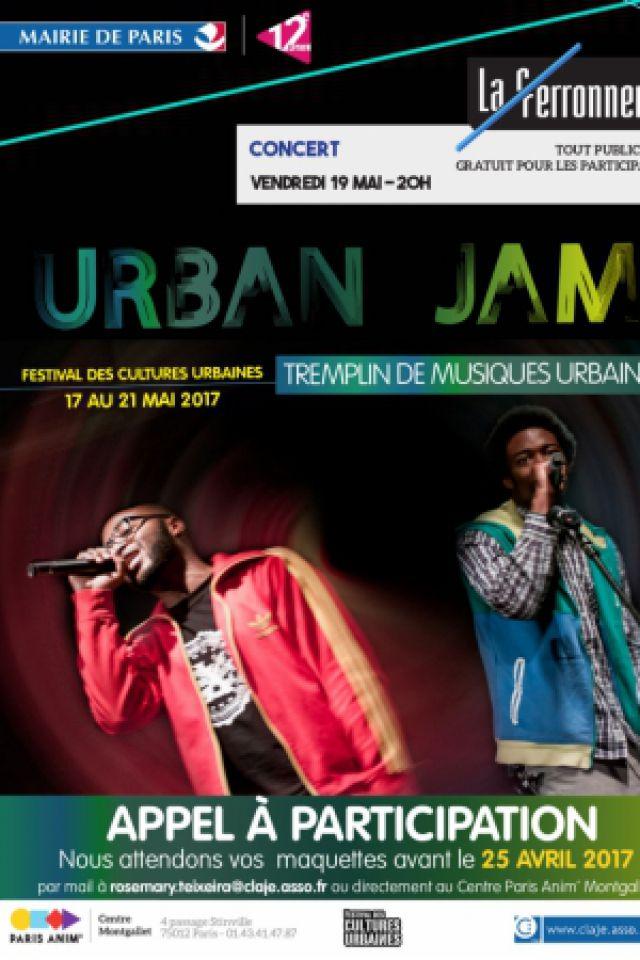 Concert Tremplin Urban Jam à PARIS @ La Ferronnerie-Centre d'animation Montgallet - Billets & Places