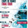 Affiche Finale de la coupe de france de hockey sur glace
