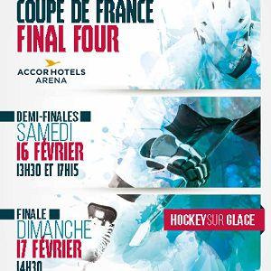 FINALE DE LA COUPE DE FRANCE DE HOCKEY SUR GLACE @ ACCORHOTELS ARENA - PARIS
