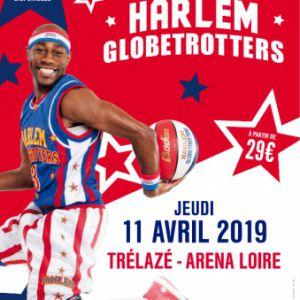 HARLEM GLOBETROTTERS @ ARENA LOIRE - TRÉLAZÉ