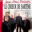 Concert Jean-Paul Poletti et le Choeur de Sartène