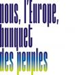 Théâtre NOUS, L'EUROPE, BANQUET DES PEUPLES