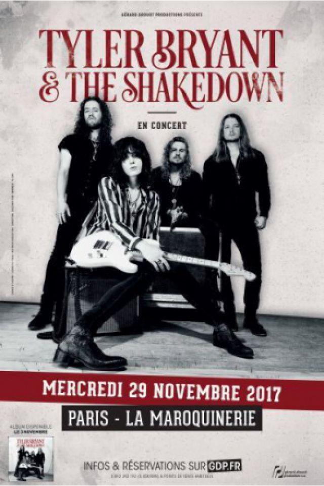 Tyler Bryant & The Shakedown @ La Maroquinerie - PARIS