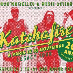 KATCHAFIRE - 20 YEARS ANNIVERSARY TOUR @ La Bellevilloise - Paris