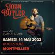 Concert JOHN BUTLER  à Montpellier @ Le Rockstore - Billets & Places