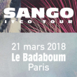 Concert SANGO à PARIS @ Badaboum - Billets & Places