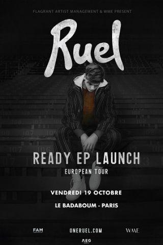 Concert Ruel à PARIS @ Badaboum - Billets & Places