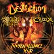 Concert DESTRUCTION + SUICIDAL ANGELS + CRISIX