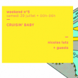 Soirée CRUISIN' BABY w/ Nicolas Lutz • Good Music For Good People