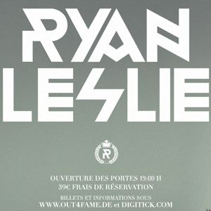 Concert Ryan Leslie Live with Band à PARIS @ FLOW - Billets & Places