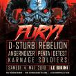 Concert FURY #4 à RAMONVILLE @ LE BIKINI - Billets & Places