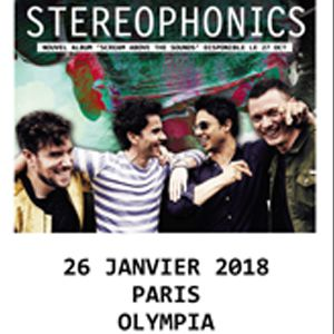 STEREOPHONICS  @ L'Olympia - Paris