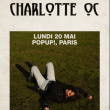 Concert Charlotte OC à PARIS @ Pop-Up! - Billets & Places