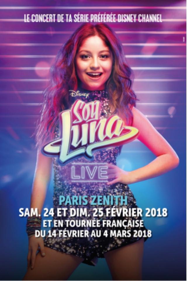 SOY LUNA LIVE @ ZENITH NANTES METROPOLE - Saint Herblain