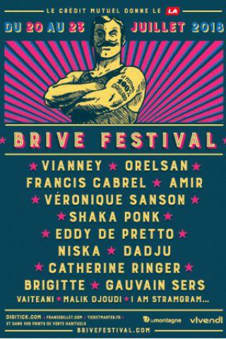 Billets BRIVE FESTIVAL 2018 - LUNDI 23 JUILLET - Théatre de Verdure