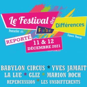 Festival Des Differences - Sam 11 Dec 21