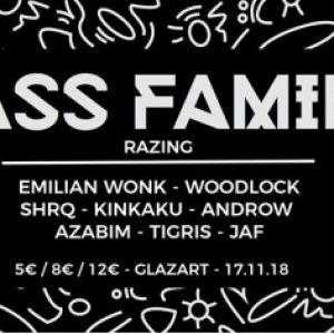 BASS FAMILY #10 Presents Razing @ Glazart - PARIS 19
