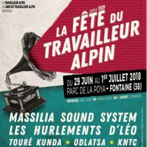 La Fête du Travailleur Alpin - Jour 2 @ Parc de la poya - FONTAINE