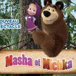 """Affiche Masha et michka """"le spectacle"""""""