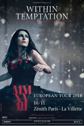 Billets WITHIN TEMPTATION - Zénith Paris La Villette