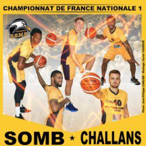 SOMB - CHALLANS @ Salle Damrémont - BOULOGNE SUR MER