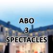 Théâtre ABONNEMENT 3 SPECTACLES à FONTENAY LE COMTE @ Château de Terre Neuve - Billets & Places