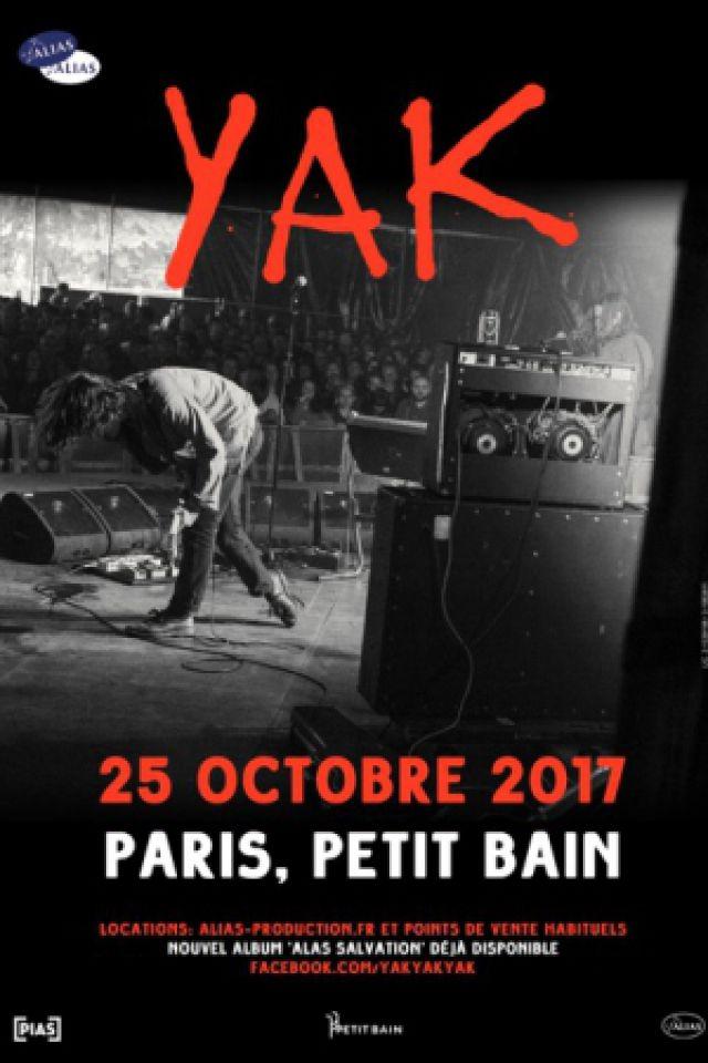YAK @ Petit Bain - PARIS