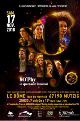 SO'PHY, LE SPECTACLE MUSICAL à MUTZIG @ Le Dôme - Billets & Places