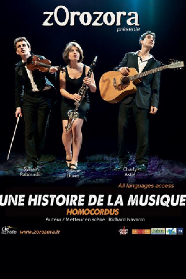 """ZOROZORA DANS """"UNE HISTOIRE DE LA MUSIQUE"""" @ Le Rouge Gorge - AVIGNON"""