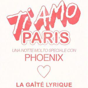 PHOENIX - TI AMO PARIS avec Halo Maud et Coma_Cose @ La Gaîté Lyrique - Paris