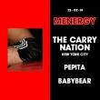 Soirée MENERGY w/ The Carry Nation à PARIS @ Gibus Club - Billets & Places