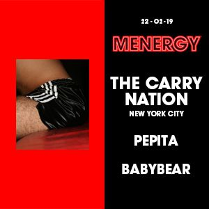 Menergy W/ The Carry Nation