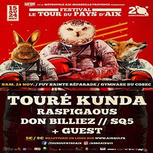 Concert TOURE KUNDA à LE PUY SAINTE RÉPARADE @ Gymnase - Billets & Places