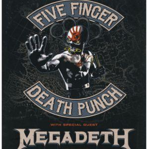 Five Finger Death Punch - Megadeth - Bad Wolves