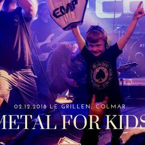METAL FOR KIDS @ Le GRILLEN - COLMAR
