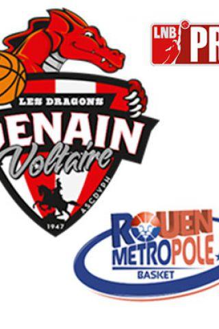 Billets PRO B - VOLTAIRE vs ROUEN - Complexe Sportif Jean Degros