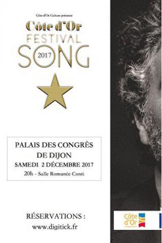 Spectacle CÔTE-D'OR FESTIVAL SONG 2017 à DIJON @ Palais des congrès de Dijon - Billets & Places