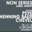 Soirée CLASSIC AS FUCK w/ PSYK + HENNING BAER + CHEVEL à Paris @ Le Batofar - Billets & Places