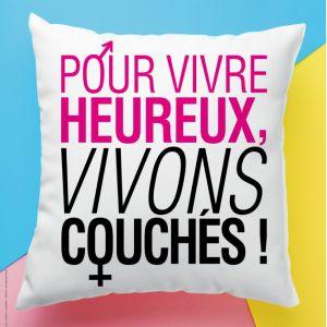 POUR VIVRE HEUREUX, VIVONS COUCHES ! @ Théâtre Daudet - SIX FOURS LES PLAGES