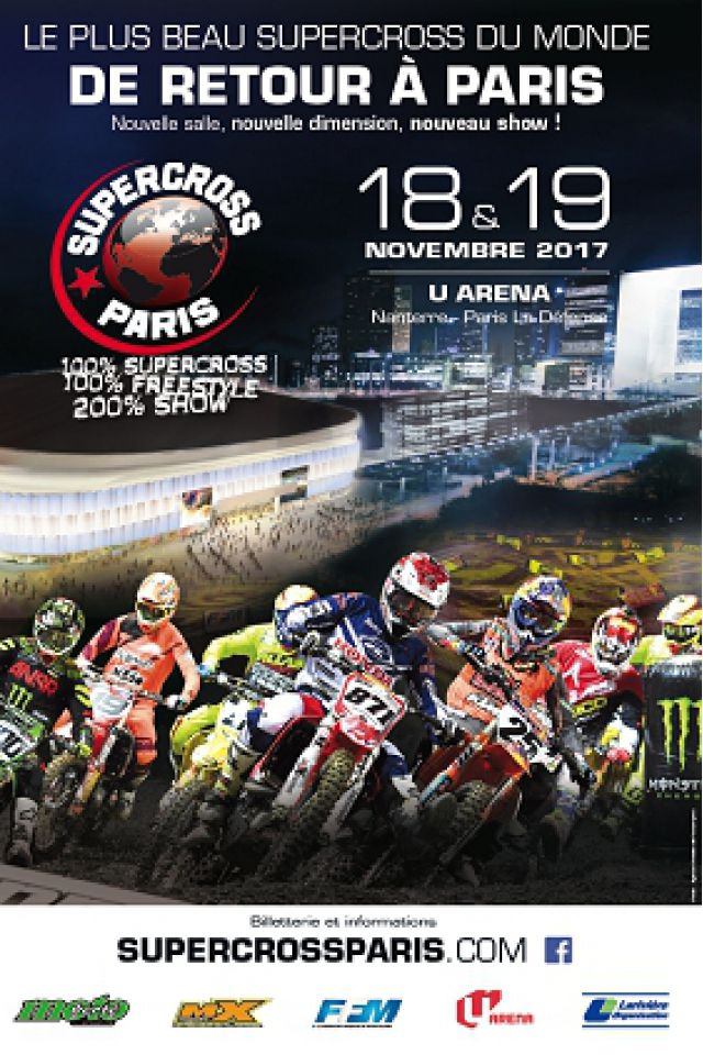 SUPERCROSS DE PARIS @ U ARENA / NANTERRE – PARIS LA DEFENSE - NANTERRE